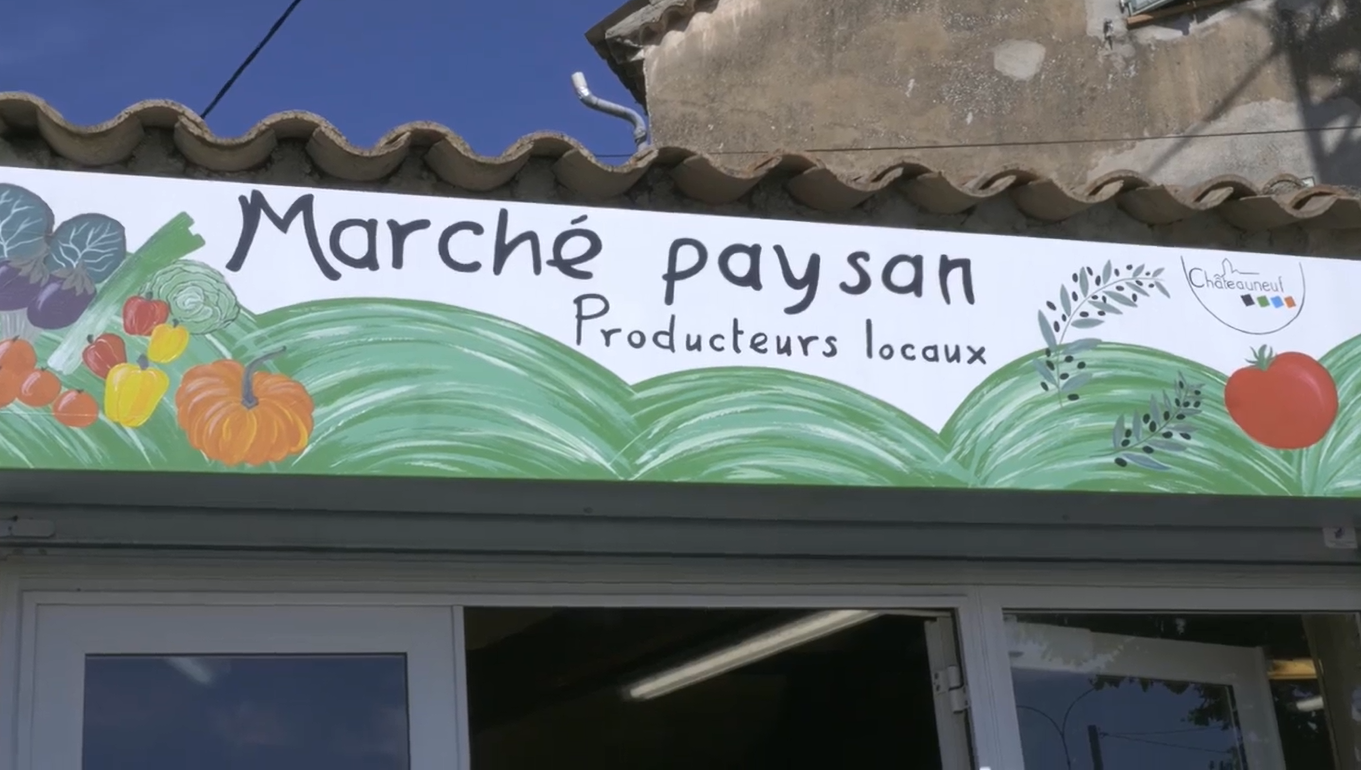 Marché Paysan à Châteauneuf